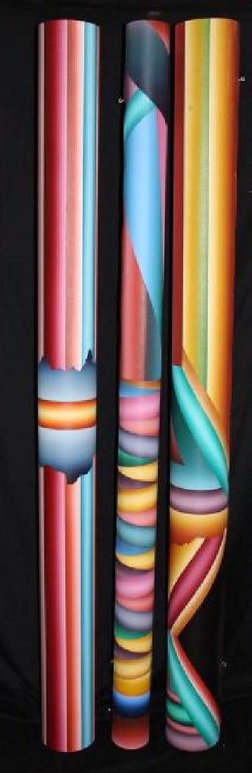 """George Snyder """"Tubes Painted By A Celebrated Artist - 2"""