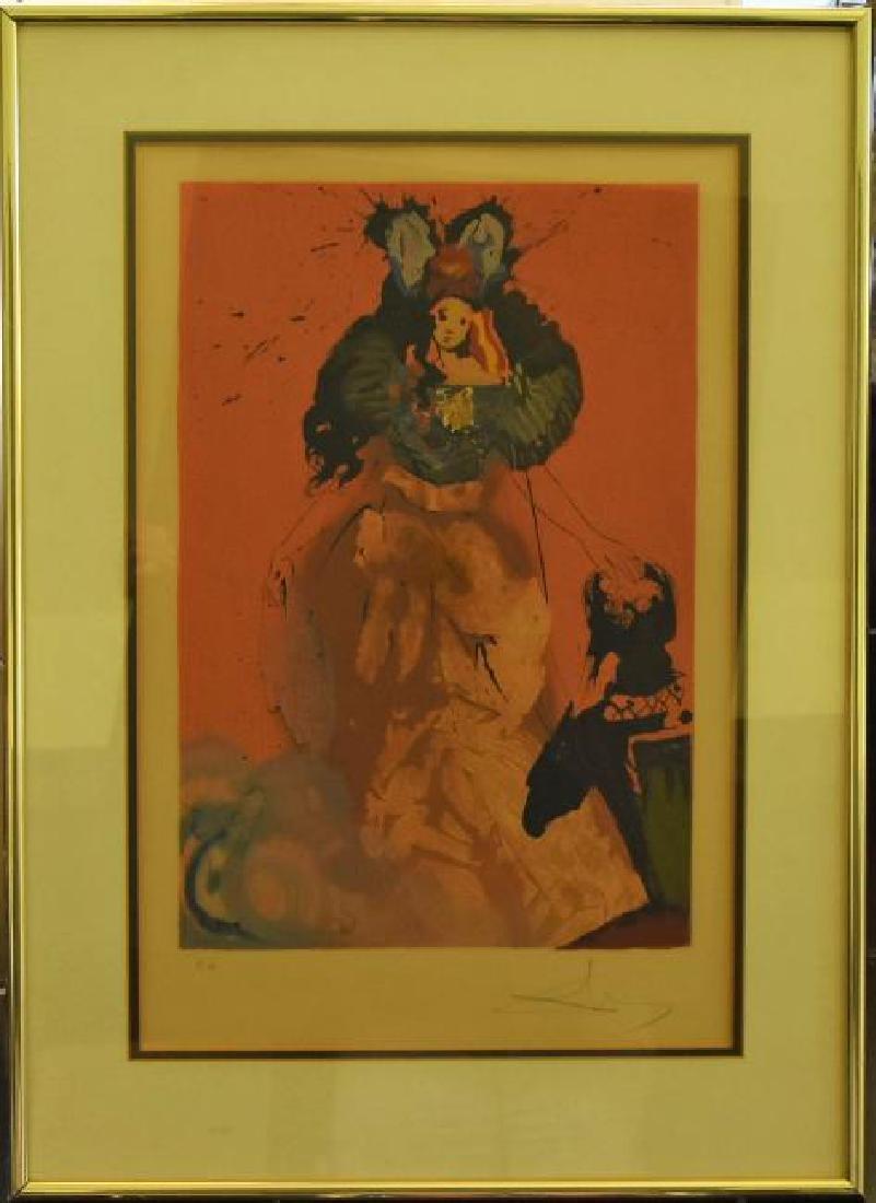 Salvador Dali (b.1904-1989) Hand signed