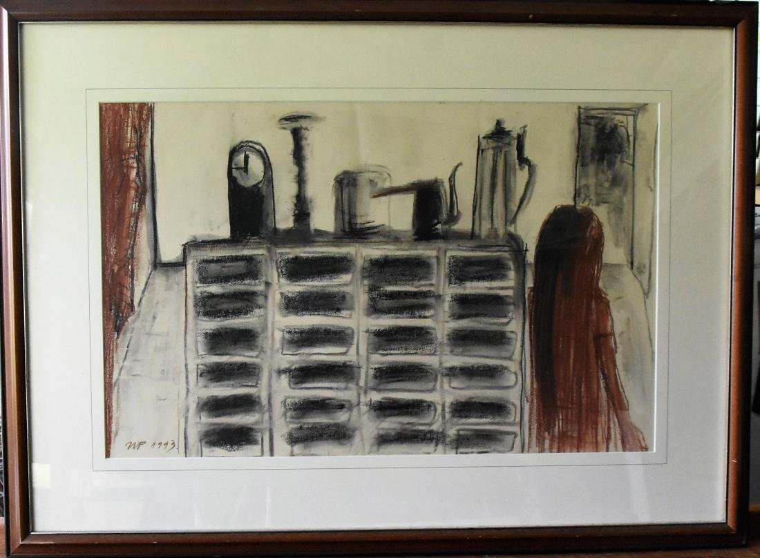 Mircea Popescu Signed Original Painting