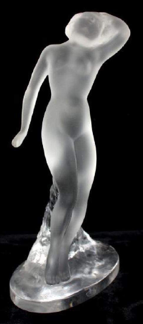 Lalique Nude Female Figurine