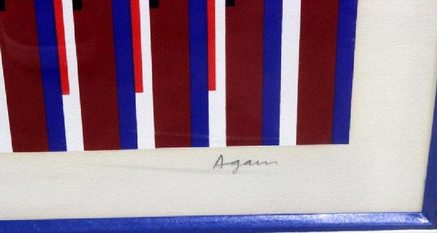 Yaacov Agam (IsraeliB b 1928-1953) Agamogam, signed - 2