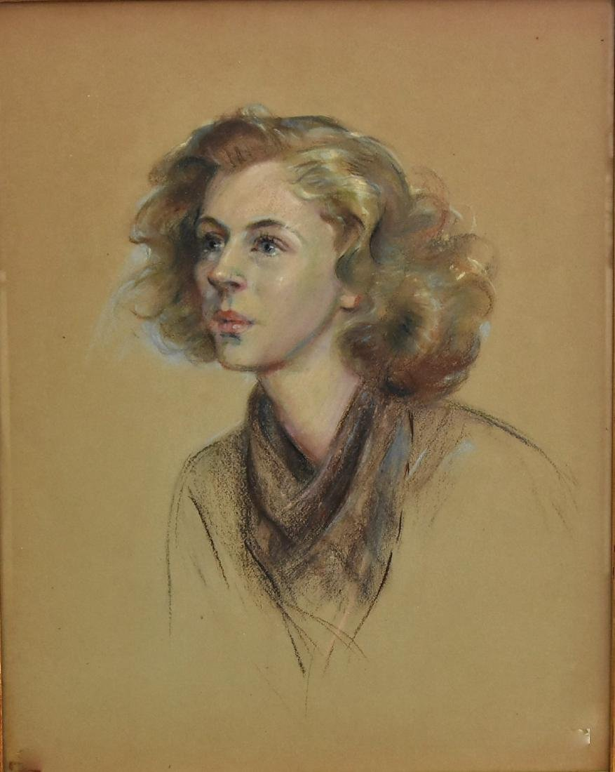 Charcoal Original in the manner of Edward Comly Trego