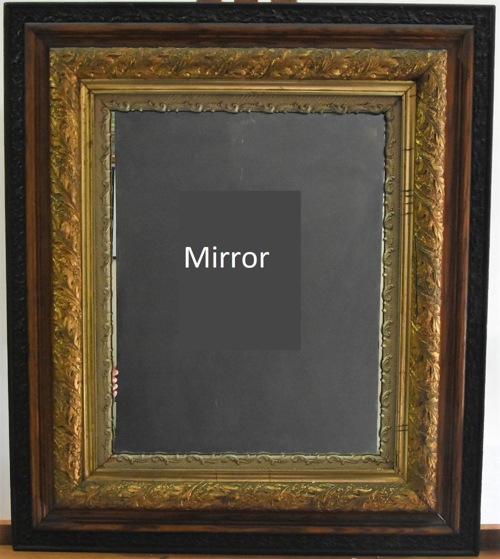 Antique Mirror Beveled Glass