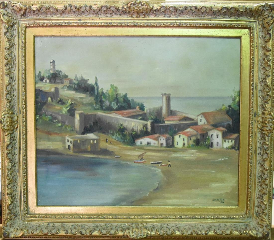 Original Oil on Canvas by E.K. PATTEN