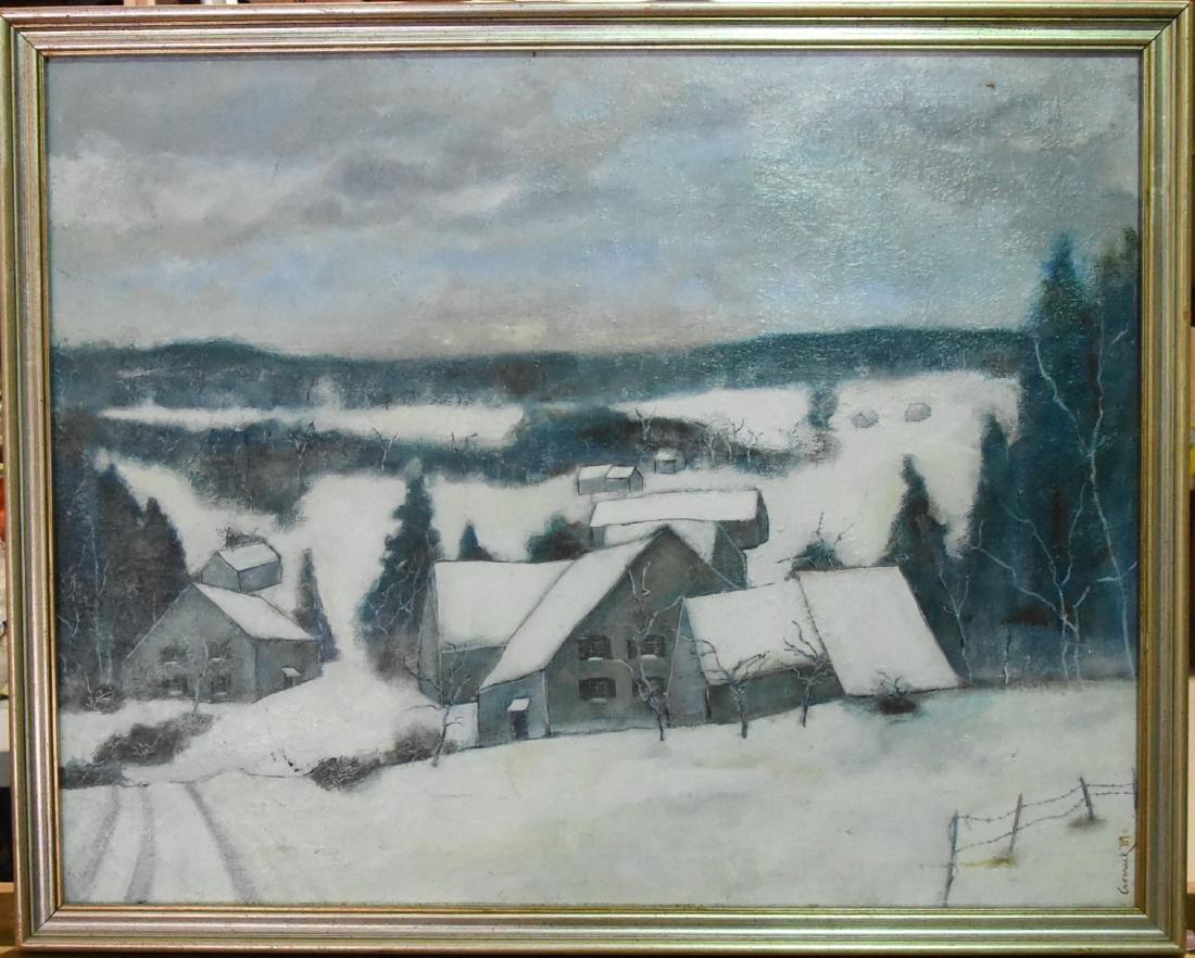 Cromak Signed Original Oil on Canvas