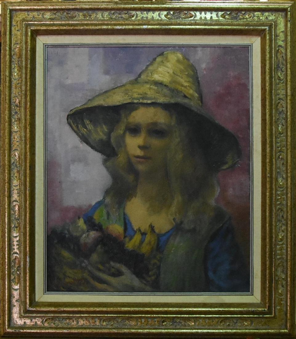 Lou Burnett Original Oil on Canvas