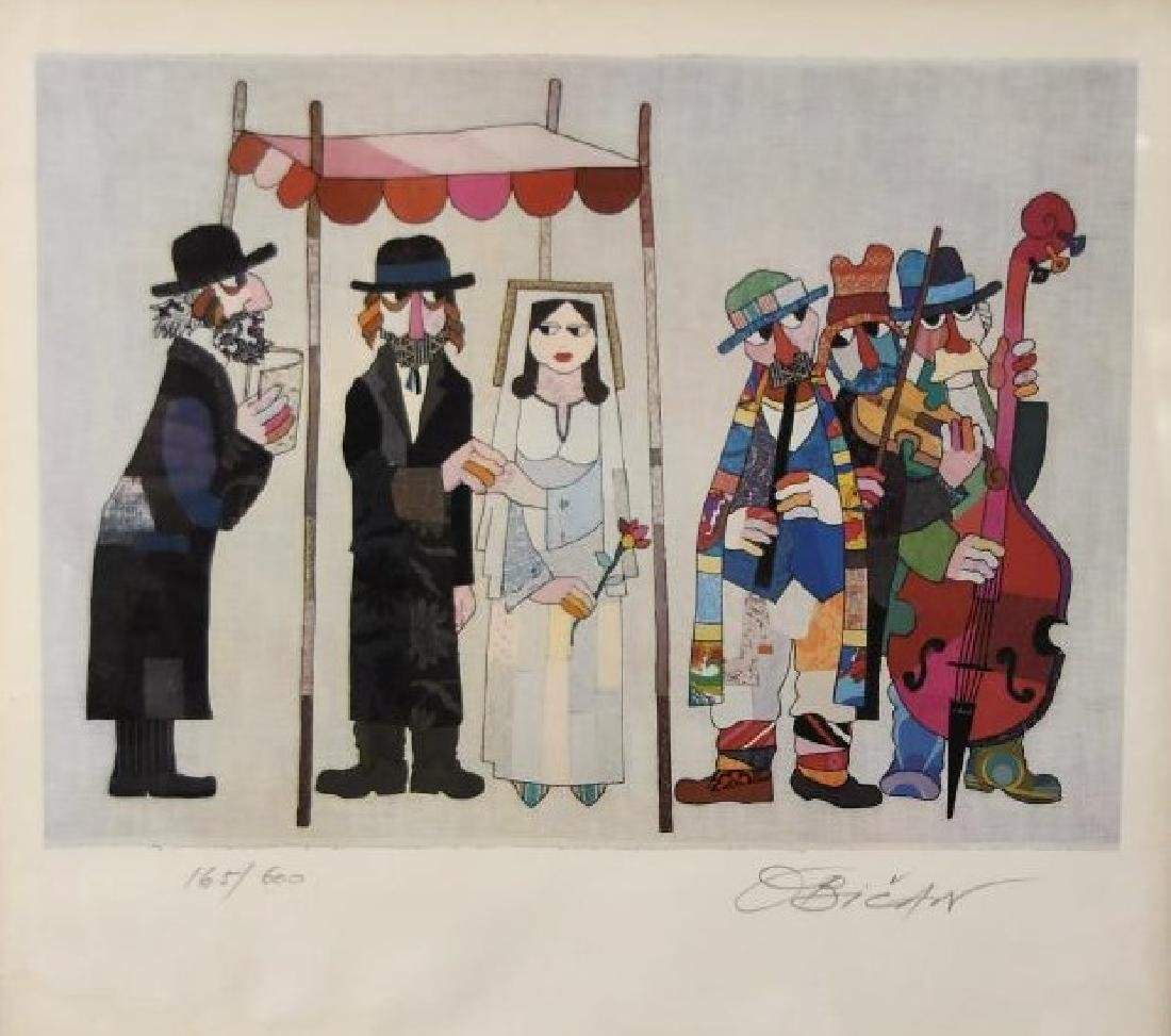 Hand Signed Lithograph by Jovan Obican