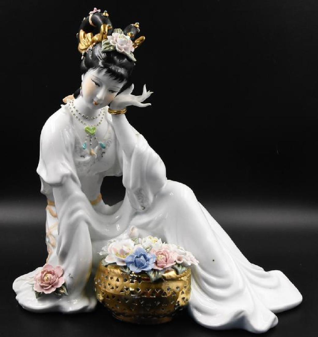 Vintage authentic Princess Statue by Coastal Glamour