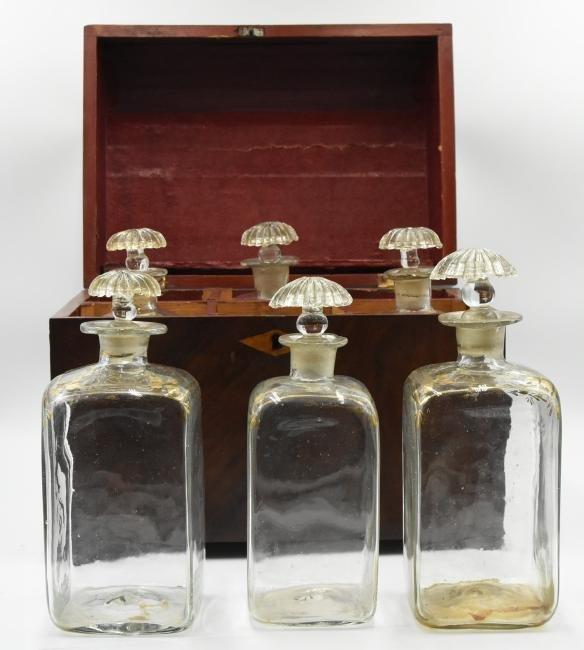 Antique Liquor Chest - 3