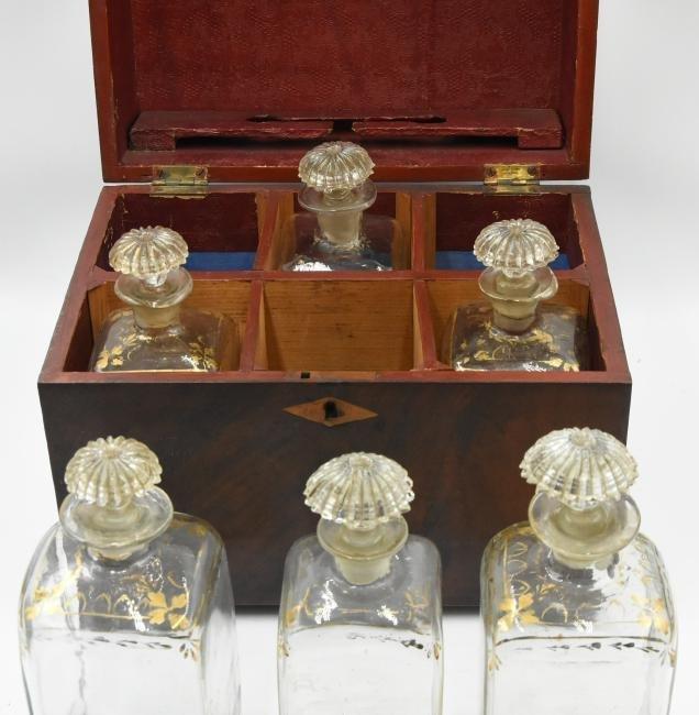 Antique Liquor Chest - 4