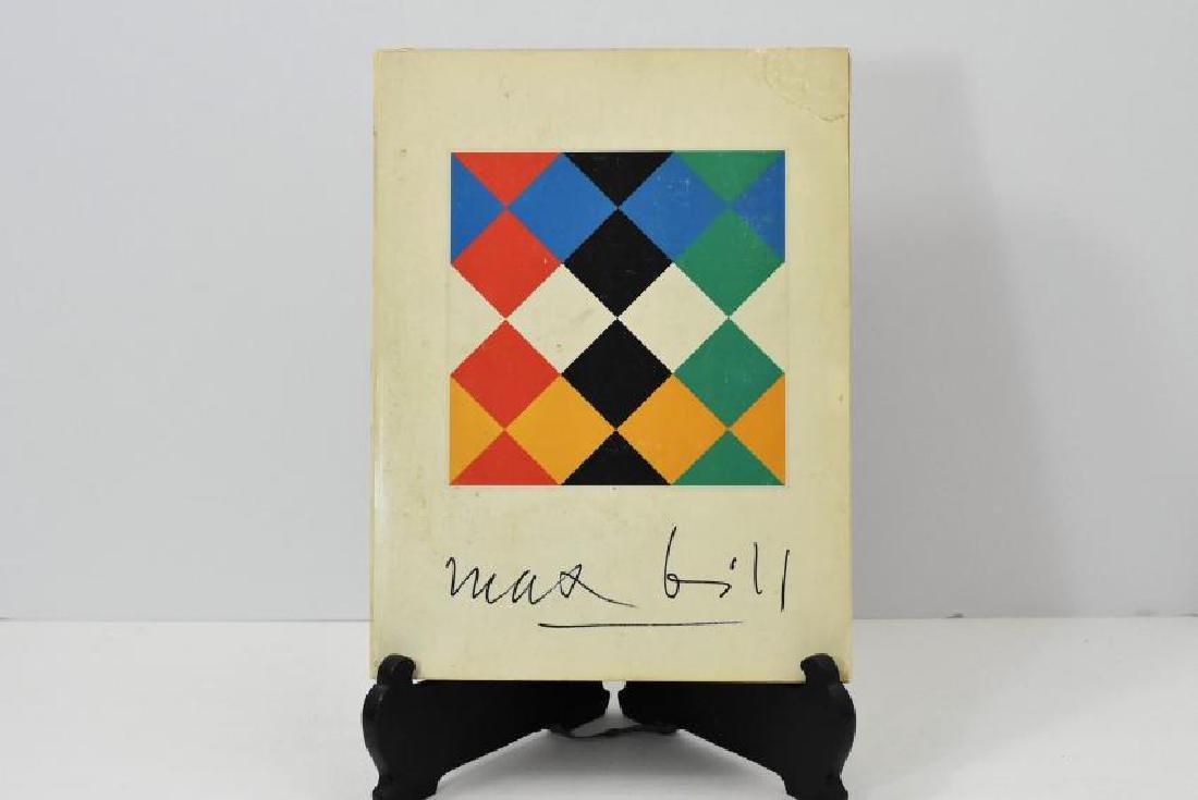 Signed Max Bill Albright-Knox Art Gallery Art Book