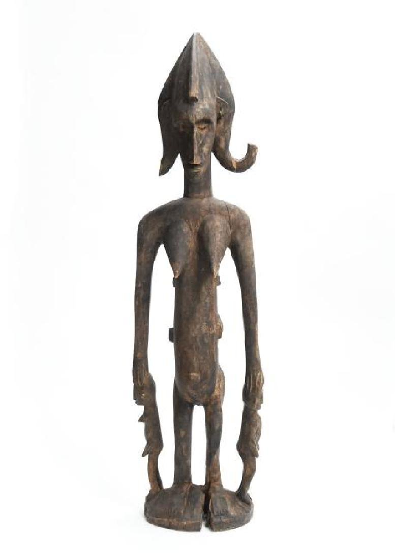 Standing Mother W/ Three Children Aboriginal Indigenous