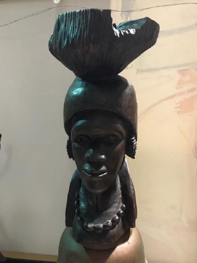 African Vintage Ancestor Imbuia wood of South Africa