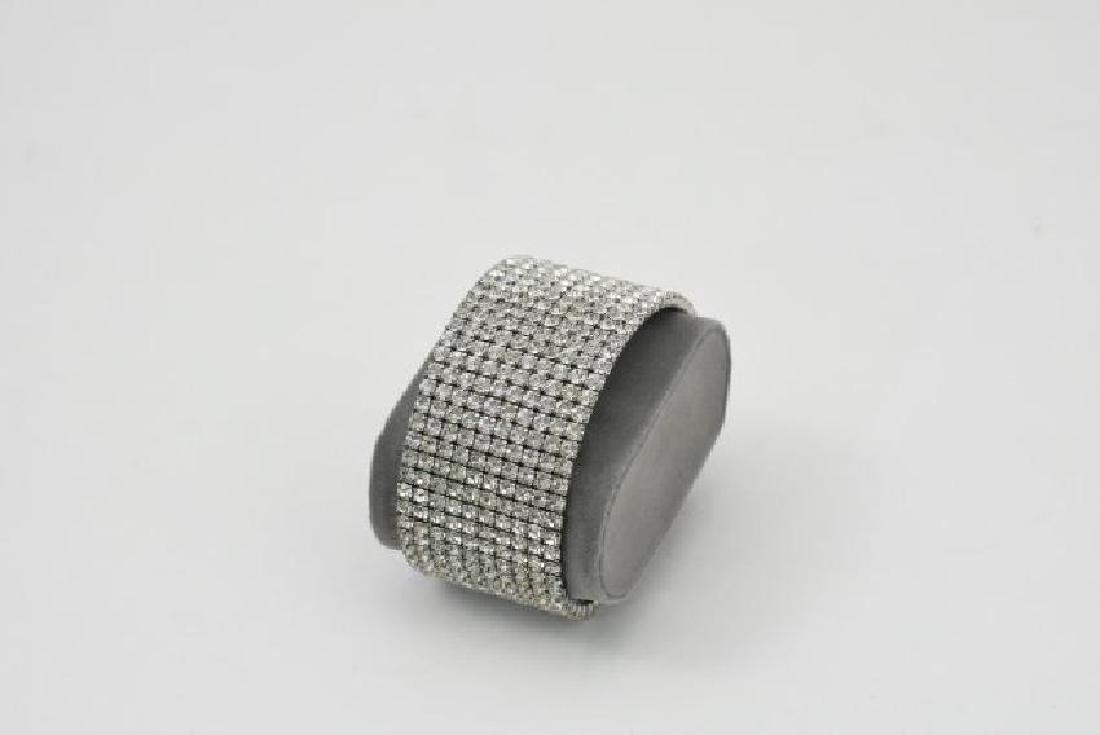 Swarovski crystal bracelet in silver