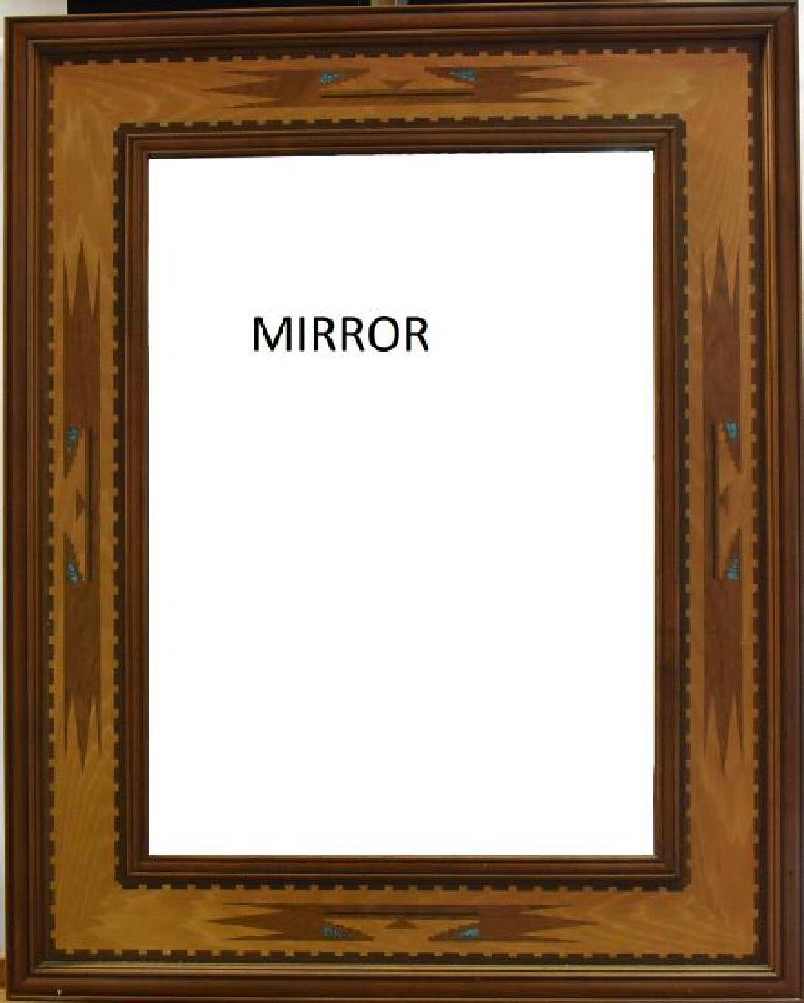 Santa Fe Inlayed Mirror
