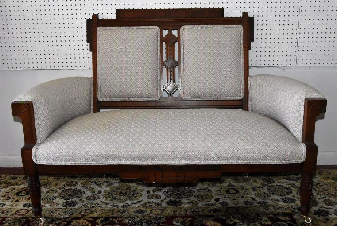 Antique Settee Victorian