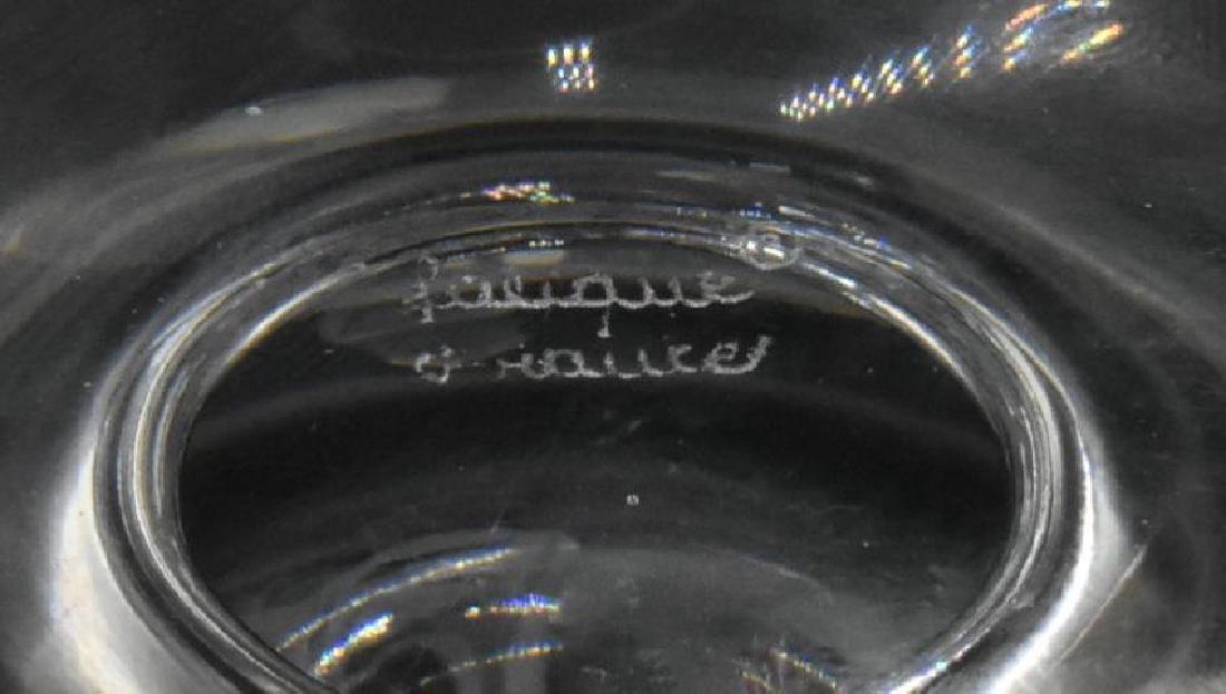 Lalique Dampierre Footed Vase - 3