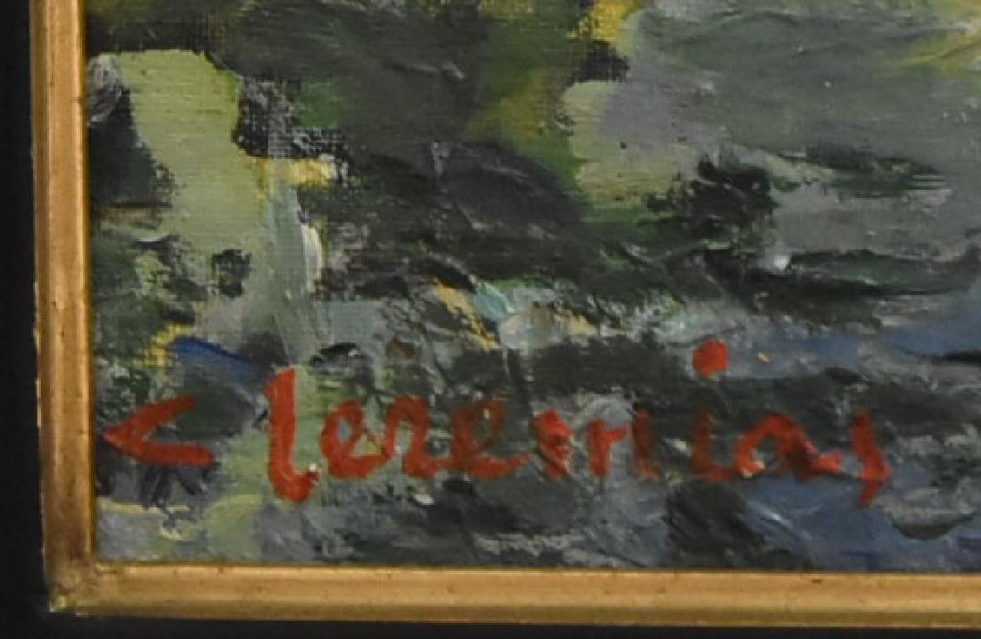 Original Artist Signed Painting of Luc del mare - 2