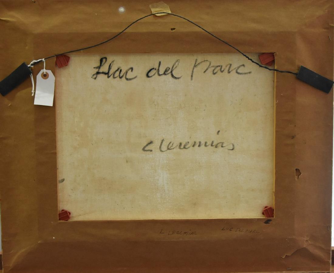 Original Artist Signed Painting of Luc del mare - 3