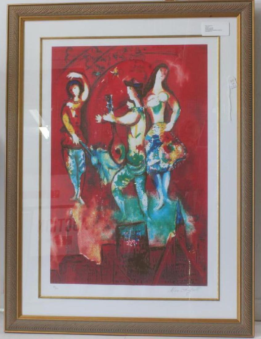 Marc Chagall -b- 1887 - 1963 Carmen Original