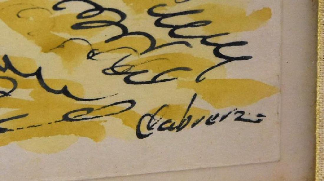 Original Artist Signed Watercolor Painting - 2