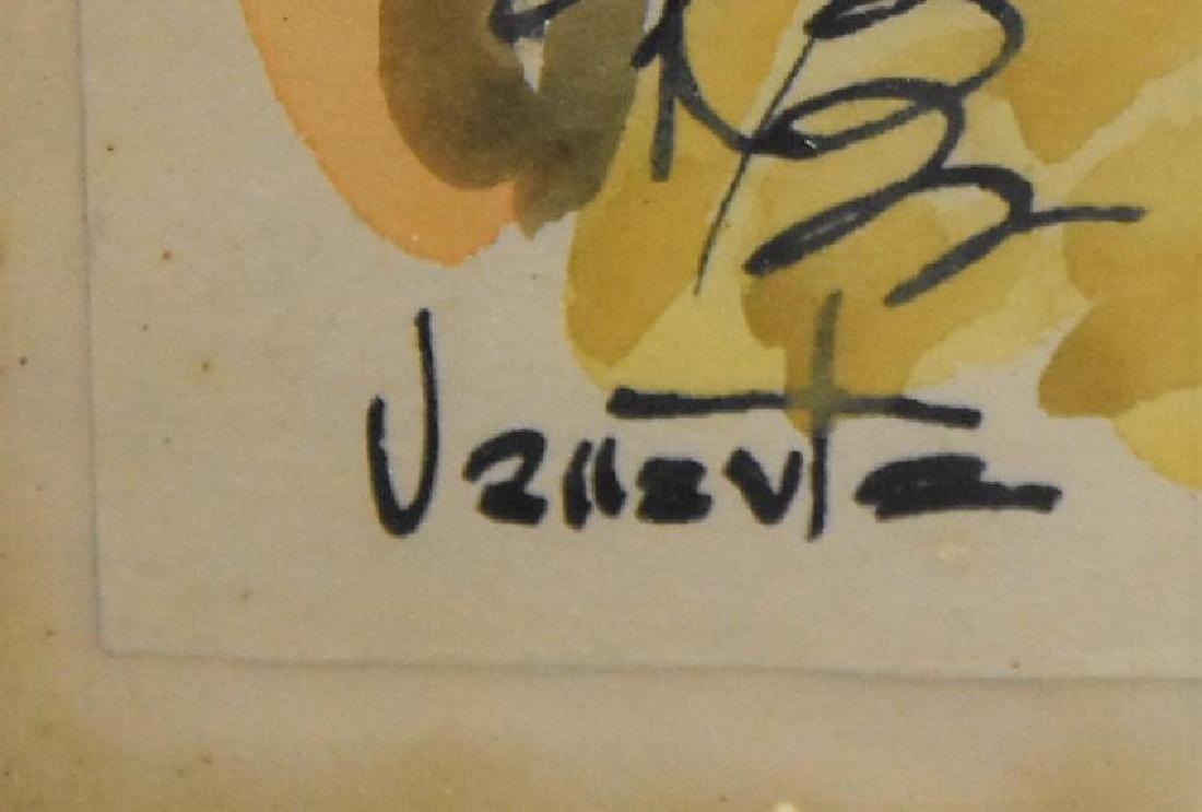 Original Artist Signed Watercolor Painting - 3