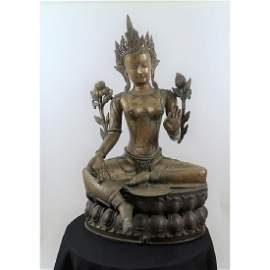 Bronze (Large) Goddess Tera Of Protection