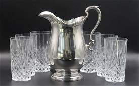 Tiffany  Company Sterling Silver Water Pitcher