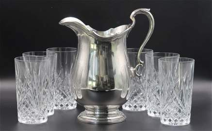 Tiffany & Company Sterling Silver Water Pitcher &