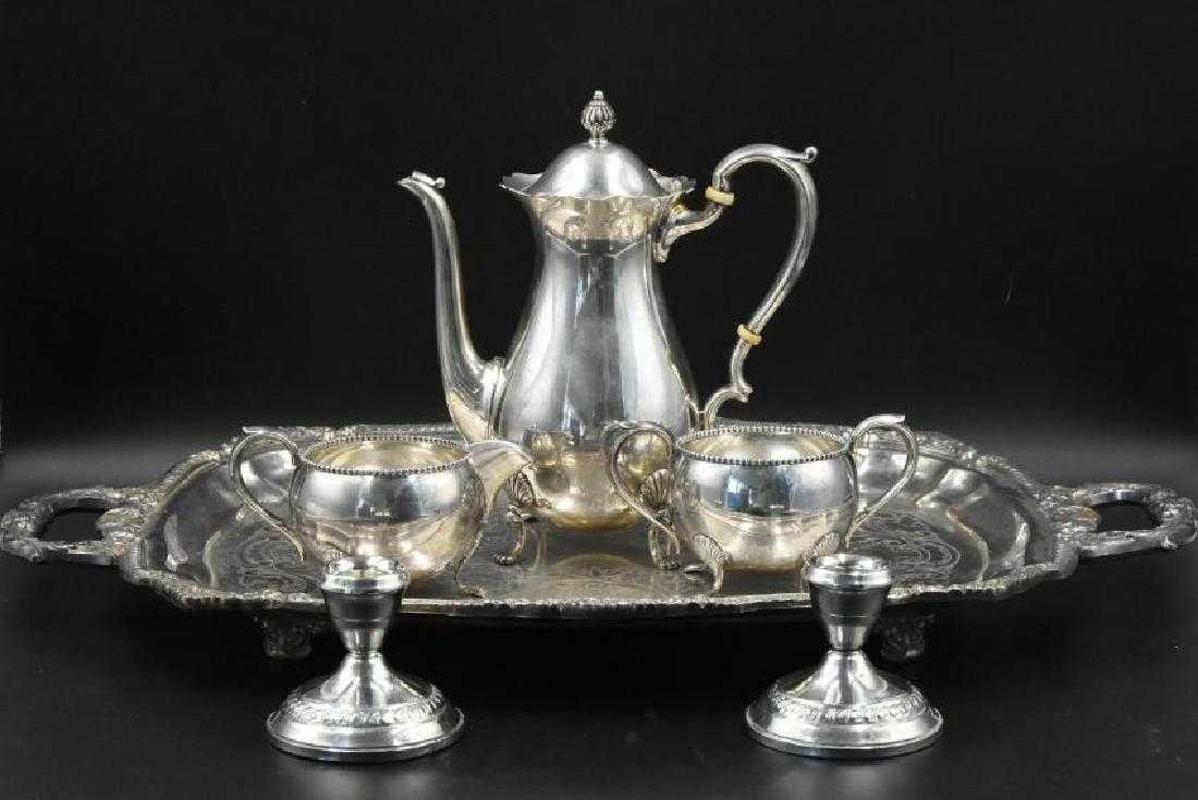 Sterling silver Fisher Coffee/Tea set