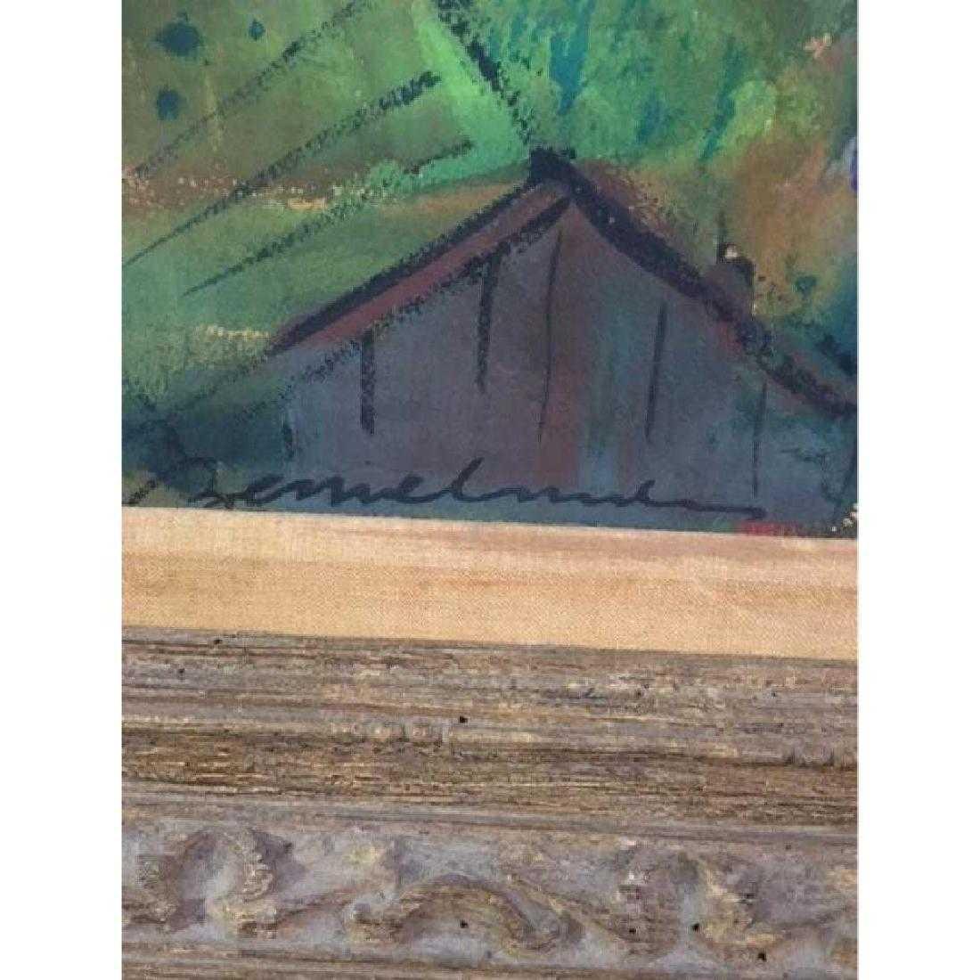 "Ludwig Bemelmans Original Oil on Canvas ""St. Cloud"" - 2"