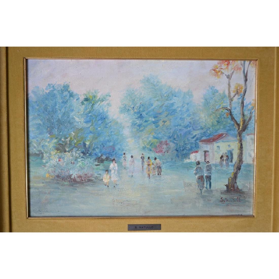 Sandro Natullo - Oil on Canvass