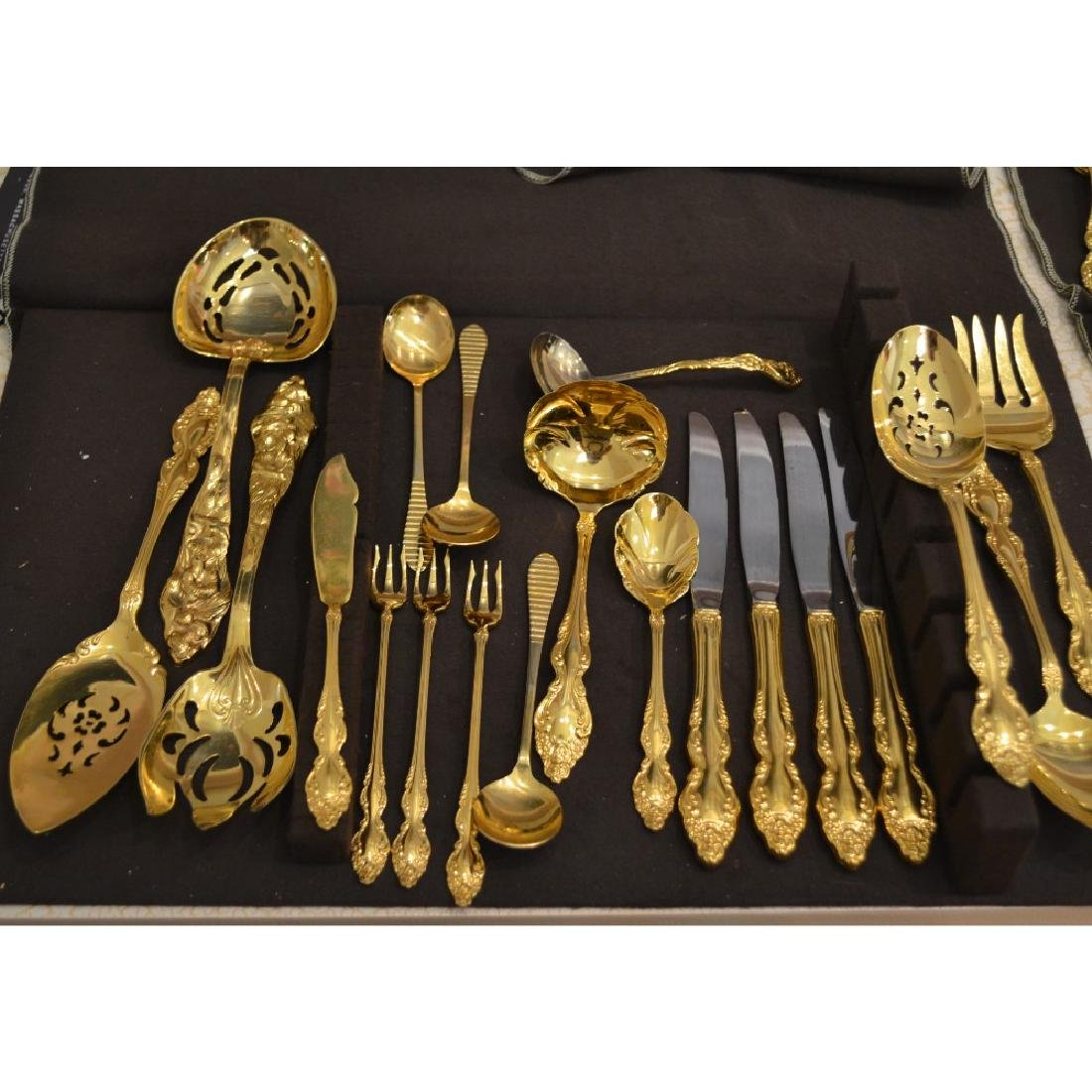 Gold Flatware - Service for 8 and more -complete - 3