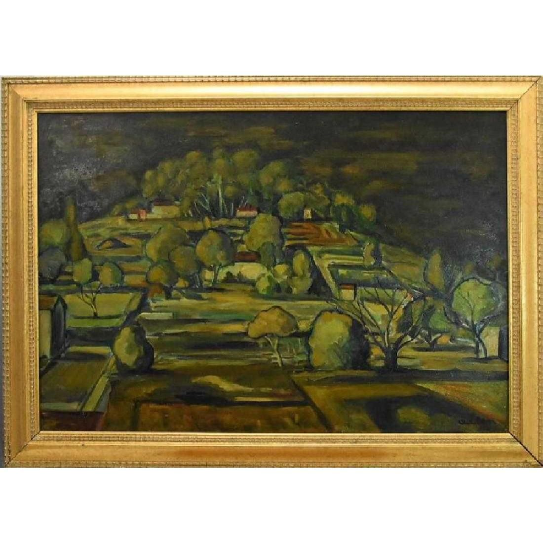 Michel Adlen Original Oil on Canvas Painting