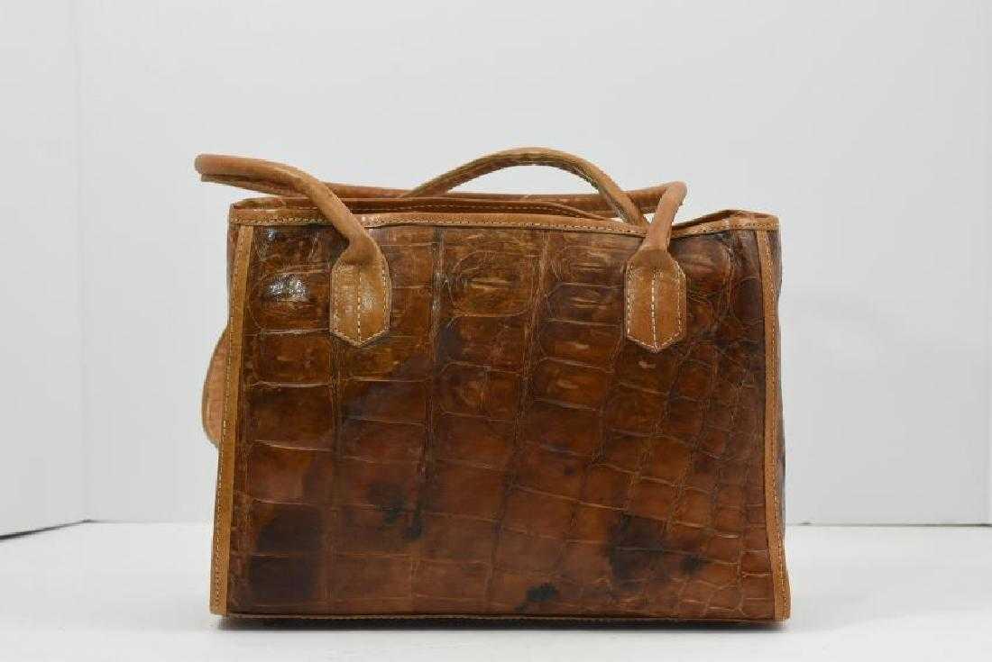 c157328f977 Exotic Real Crododile skin handbag vintage