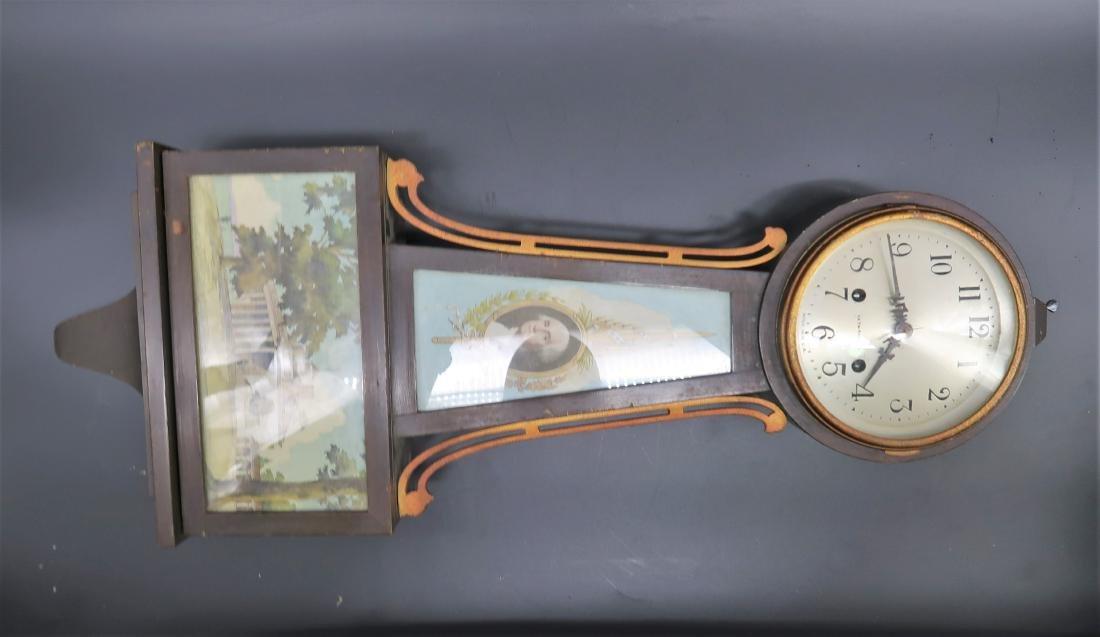 Seth Thomas Banjo Clock  Conn 1813