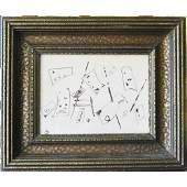 Wassily Kandinsky (1866-1944) Ink on paper Signed