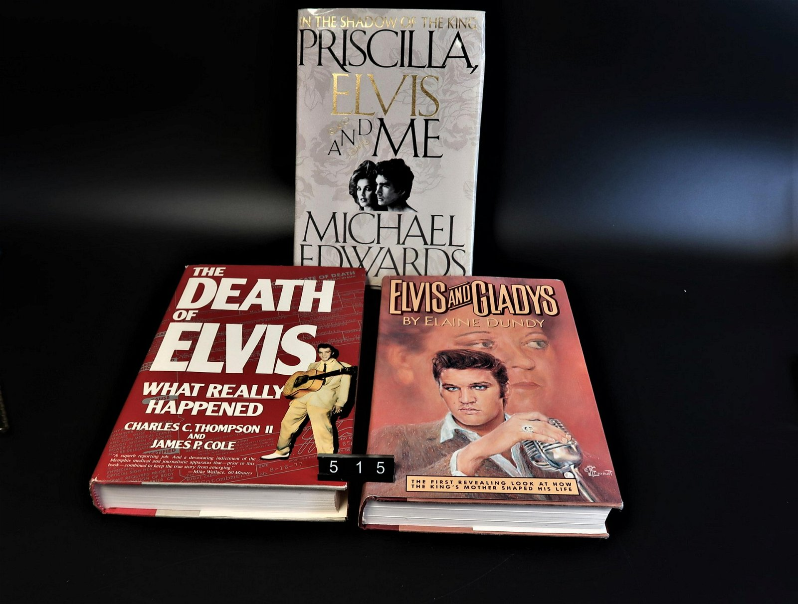 Elvis Presley Books(3) First Edition