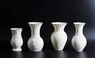 Ireland Belleek Collectors Society Mallard Vases with