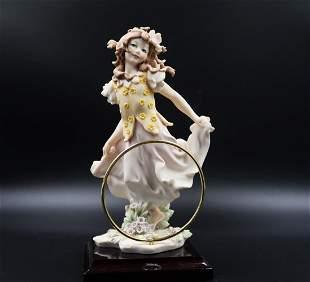 Armani Giuseppe Beautiful Girl w Spirit Ring of Life