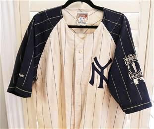 NY Yankees Baseball Shirt Berra 8
