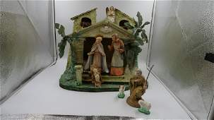 Antique Hummel Nativity Set