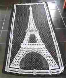 """Louis Vuitton Designer Silk Scarf 72"""" X 36"""""""