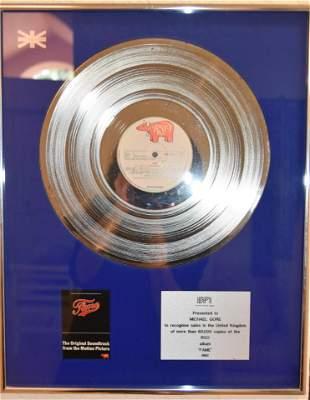 Michael Gore Comemorative Record