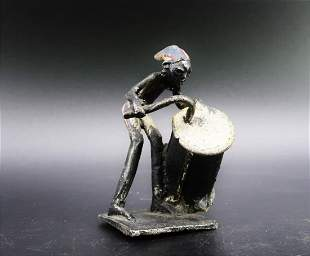 African Sculpture made of Metal 1700s