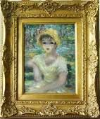 Female Portrait by Cherry Jefffe Huldah (1901 - 2001)