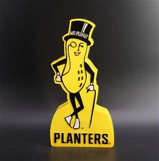 Vintage Planters Mr Peanut Portable