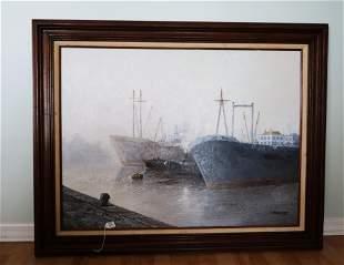 J. Margaret, Oil on Canvas