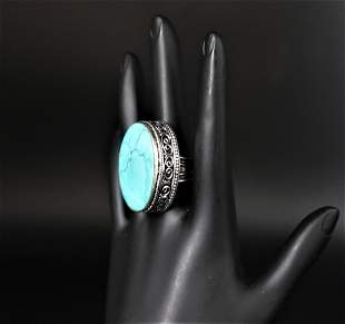 Torquise 925 Silver Ring