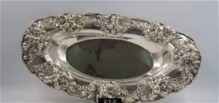 Gorham Sterling Silver Oval Centerpiece Bowl